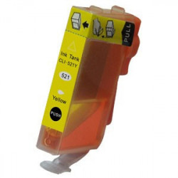 Canon CLI-521Y Avec Chip