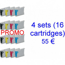 4 kits LC970-1000BK /...