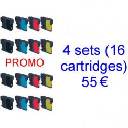 4 kits LC980-1100BK /...