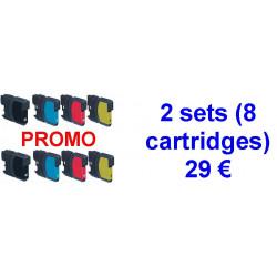 2 kits LC980-1100BK /...