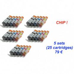 5 Kits canon...