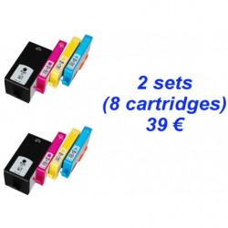 2 kits HP920 Noire XL +...