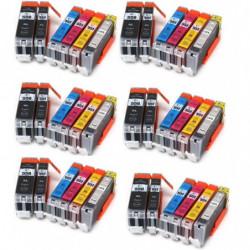 6 Kits canon PGI550BK...