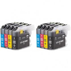 2 kits LC223XL BK / LC223XL...